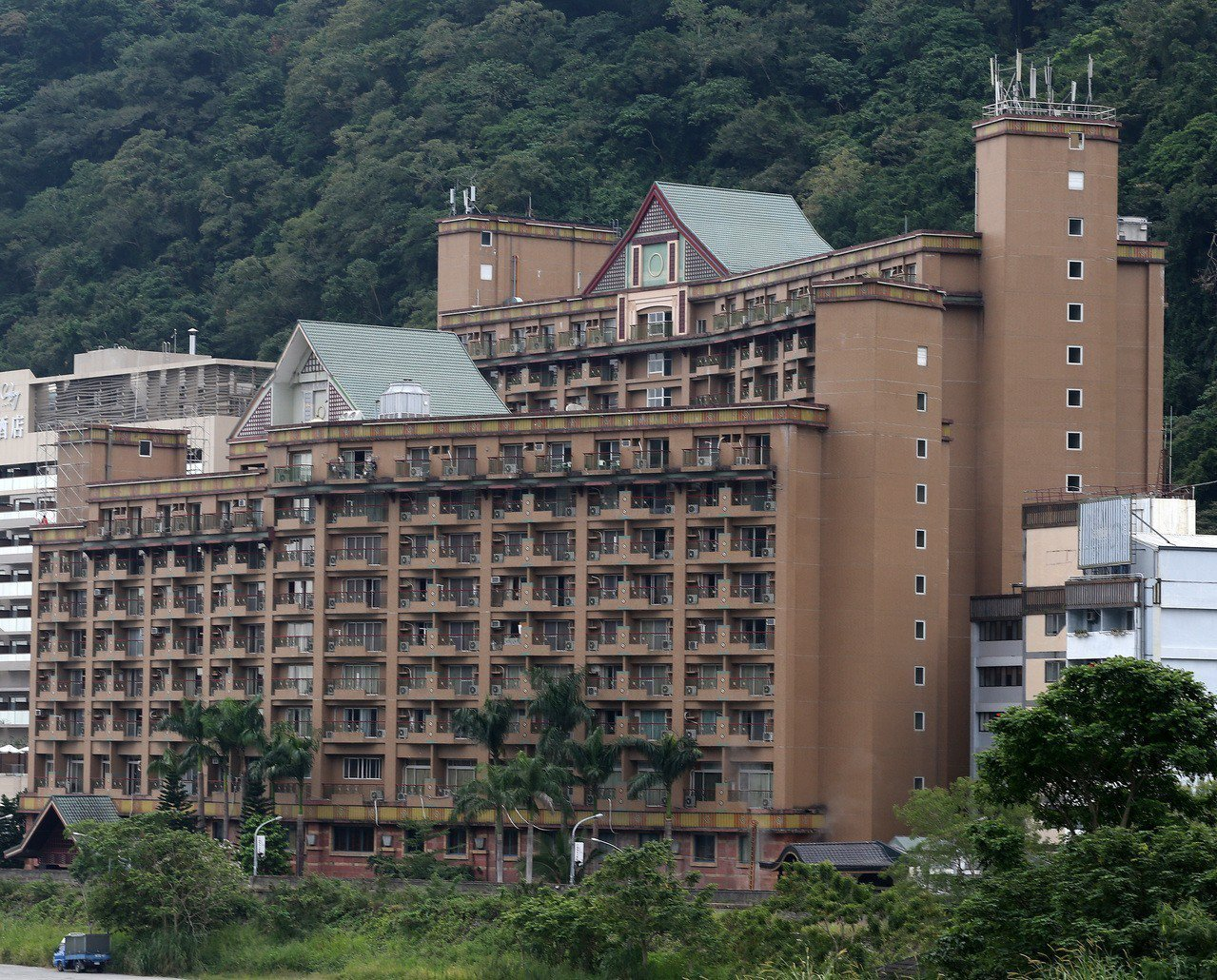 台東知本高野飯店。圖/報系資料照