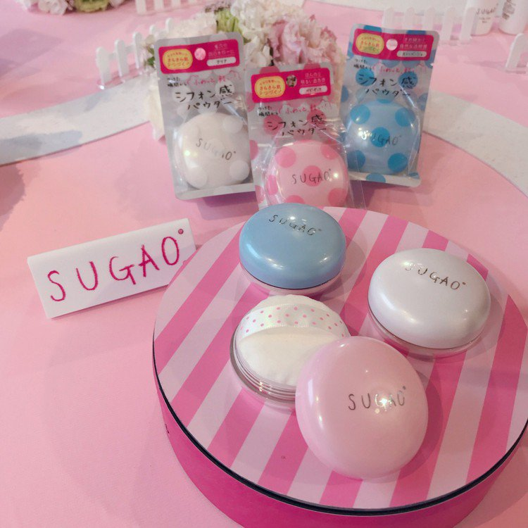 SUGAO雪紡紗輕裸蜜粉,售價420元、共3色,8月於屈臣氏獨家開賣。圖/SUG...