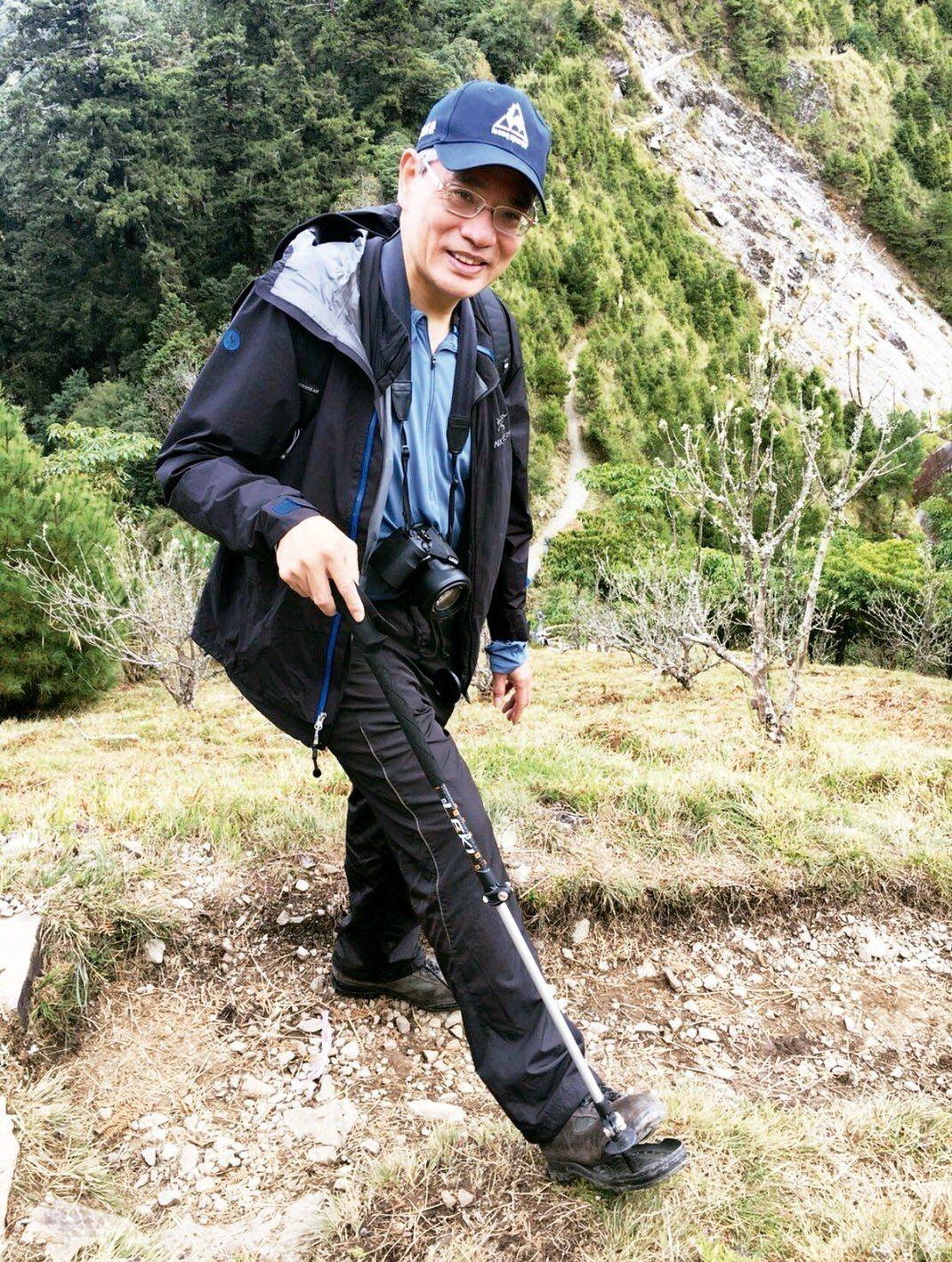 台北榮總副院長陳威明,將主講熟齡壯遊講座。 圖/陳威明提供