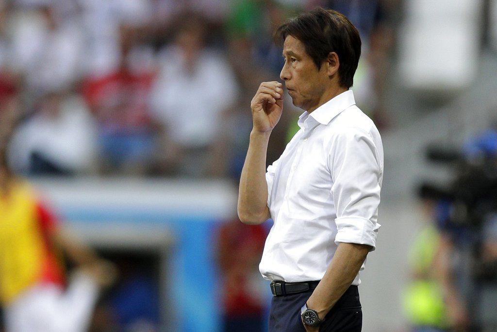 日本為了晉級最後10分鐘採拖延戰術,引來外界批評不積極取勝,日本教頭則表示別無他...