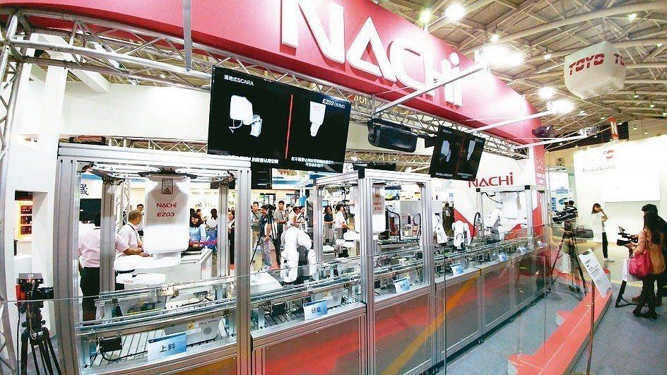 日本不二越株式会社(NACHI)產品適用於各種行業,為客戶提供多種自動化產線設備...