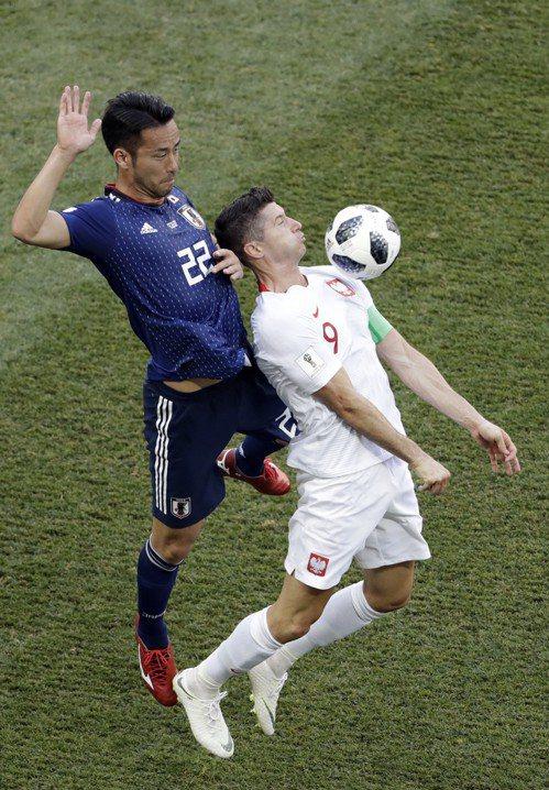 日本擠進世足16強,達成暌違8年晉級的目標。 (美聯社)