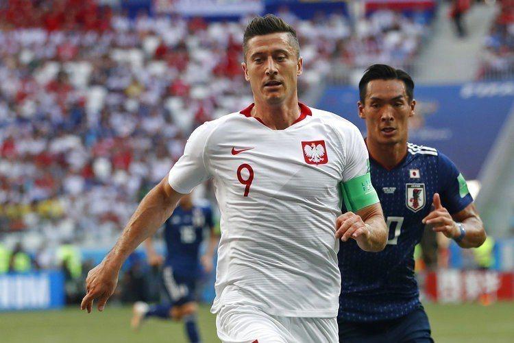 「波蘭神鋒」萊萬多夫斯基這屆世足賽表現乏善可陳,一球都沒踢進。 美聯社