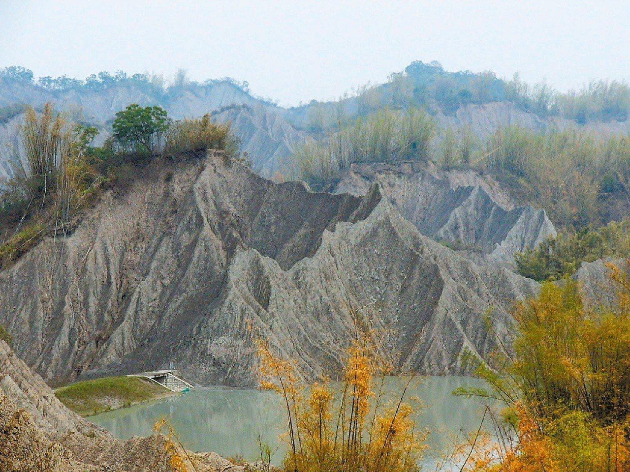 草山月世界裡的大峽谷景觀。記者林全洲/攝影