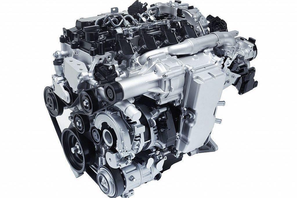 全新登場的SkyActiv-X汽油引擎,可說是Mazda的最新利器,融合汽油與柴油引擎的雙重優勢下,動力不僅有10-20%的提升,同時還能改善20-30%燃油經濟性。 圖/Mazda提供