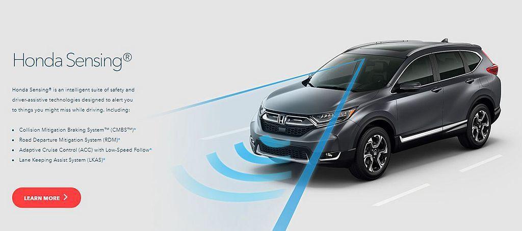 美規小改款Honda HR-V導入Honda SENSING 智慧安全主動防護系...