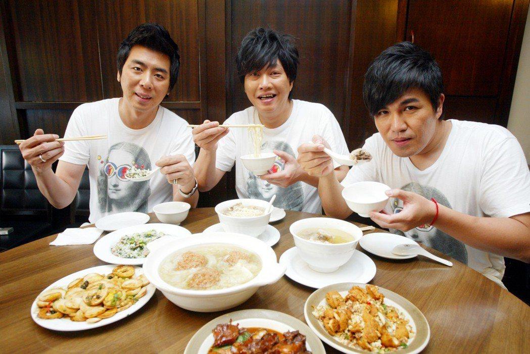 2009年的「景行廳男孩」接受「聯合報」專訪。記者陳再興/攝影