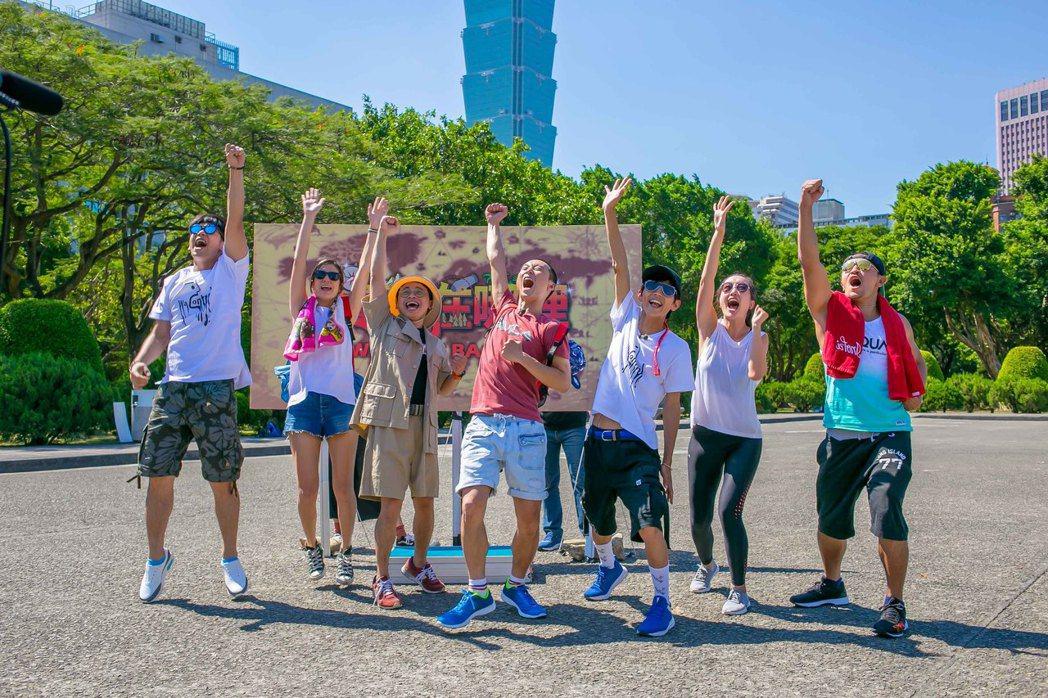 TVBS歡樂台「食尚玩家」2018夏日熱鬪篇「寶藏在哪裡」,主持人莎莎、浩子、阿...