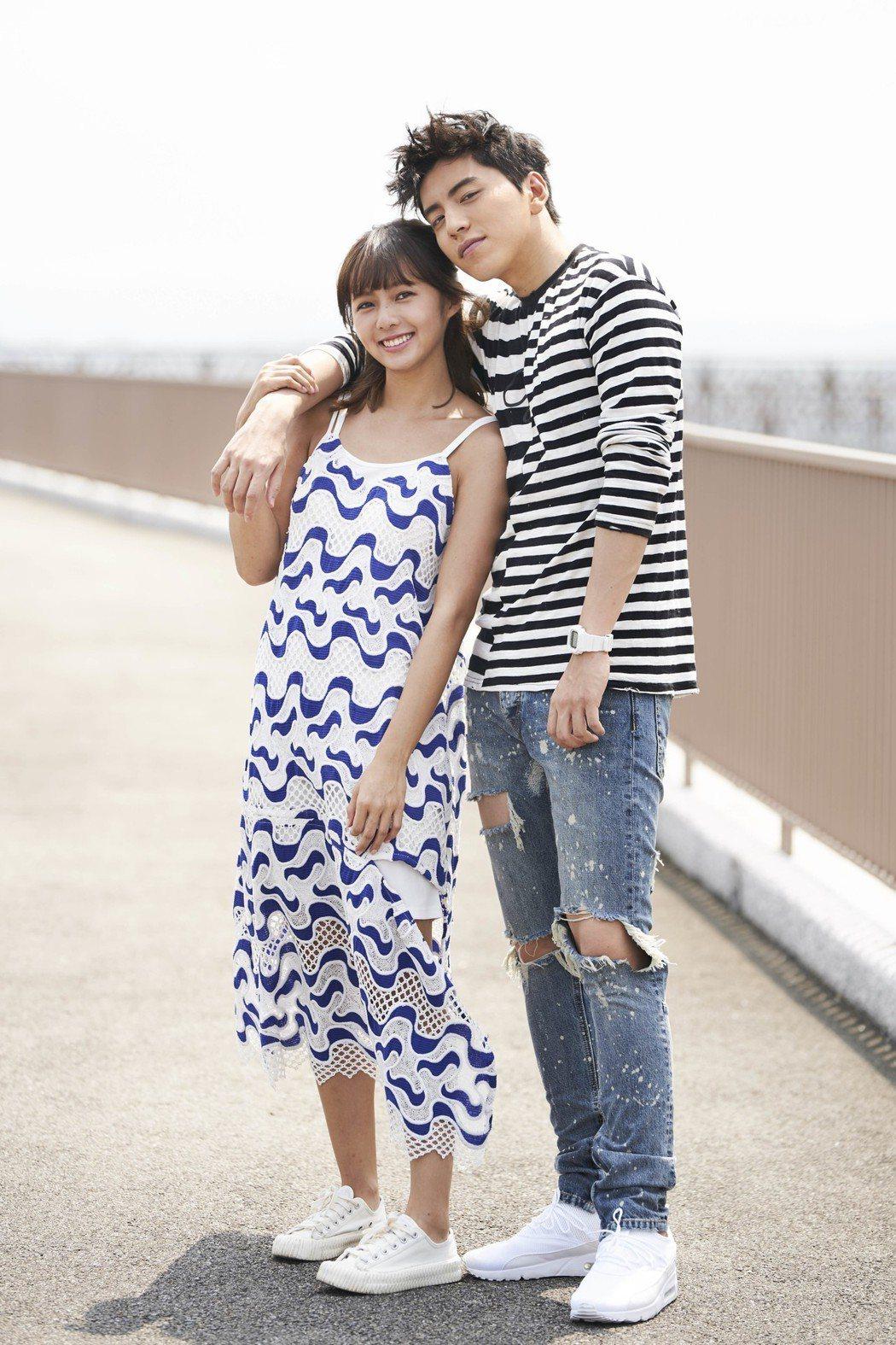 王大陸擔任簡廷芮新歌MV男主角。圖/阿爾發音樂提供