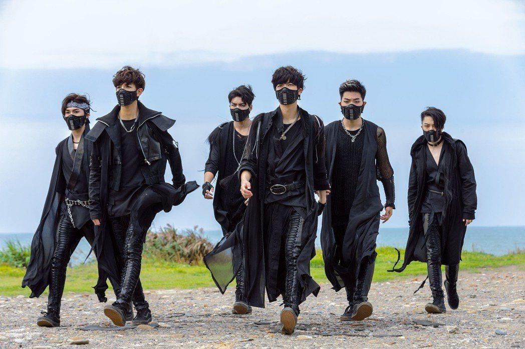男團C.T.O第一次拍MV超興奮。圖/環球唱片提供