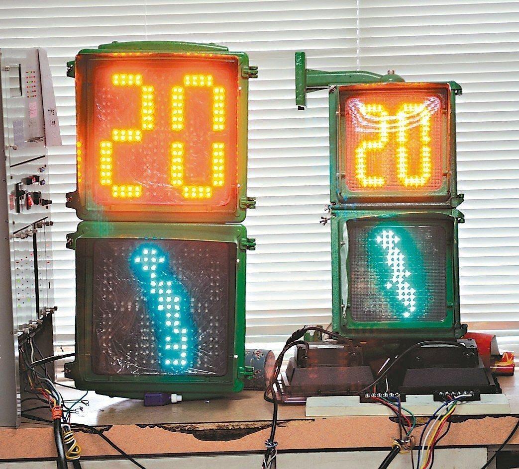 因應年長者視力退化,未來路寬40公尺以上道路,行人號誌燈將「放大」至900平方公...