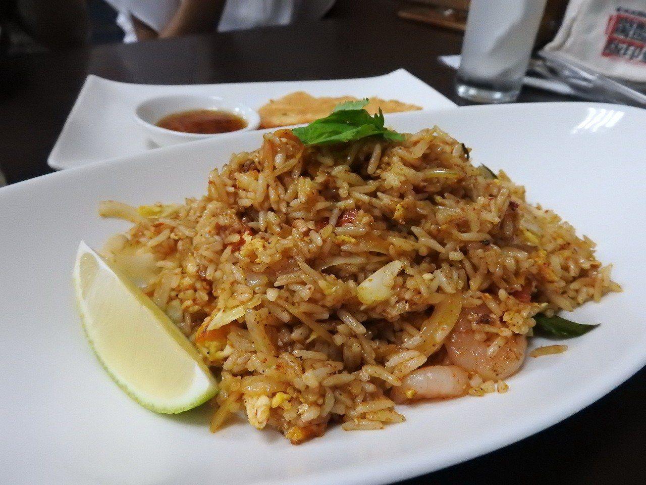 泰樂泰國料理的Tom Yum炒飯。記者祁容玉/攝影