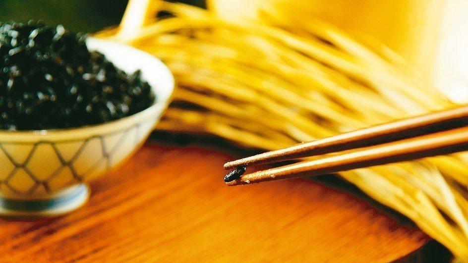 黑纖米口感粒粒分明。 源天然/提供