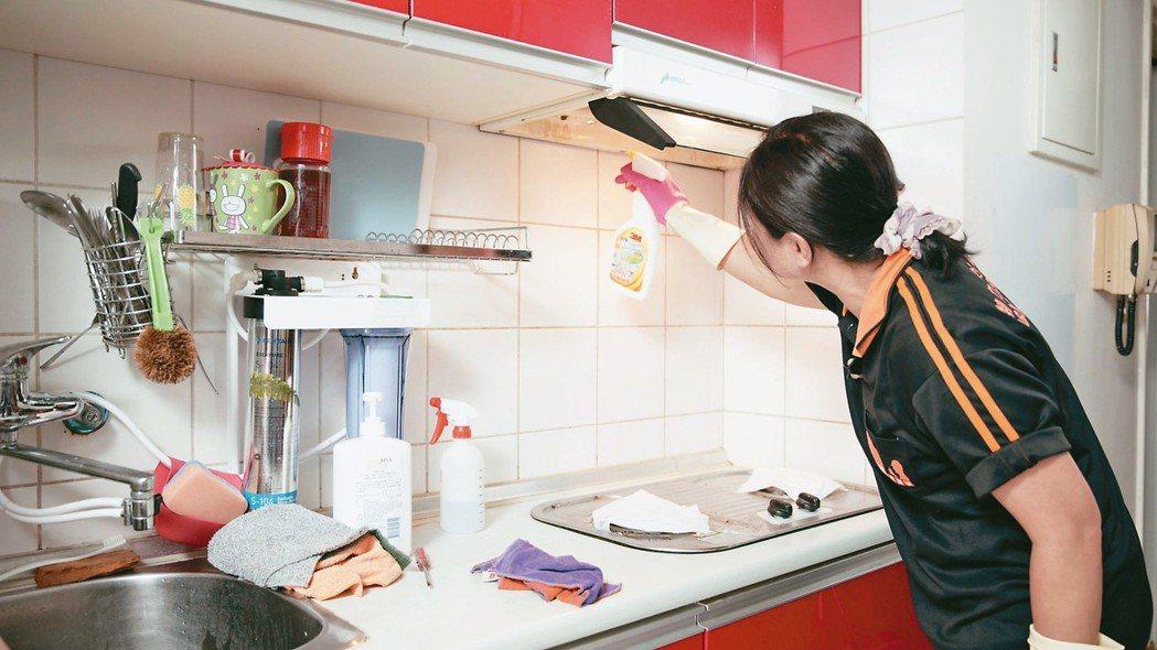 日常生活中的清潔打掃、居家修繕,都可透過線上預約方式請人到府服務 。 特力屋/提...