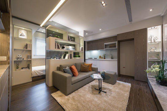 双捷晶華總價800萬元起,自備20%,購屋門檻輕鬆。 圖/業者提供