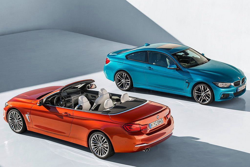 BMW 4-Series Convertible 圖/BMW提供