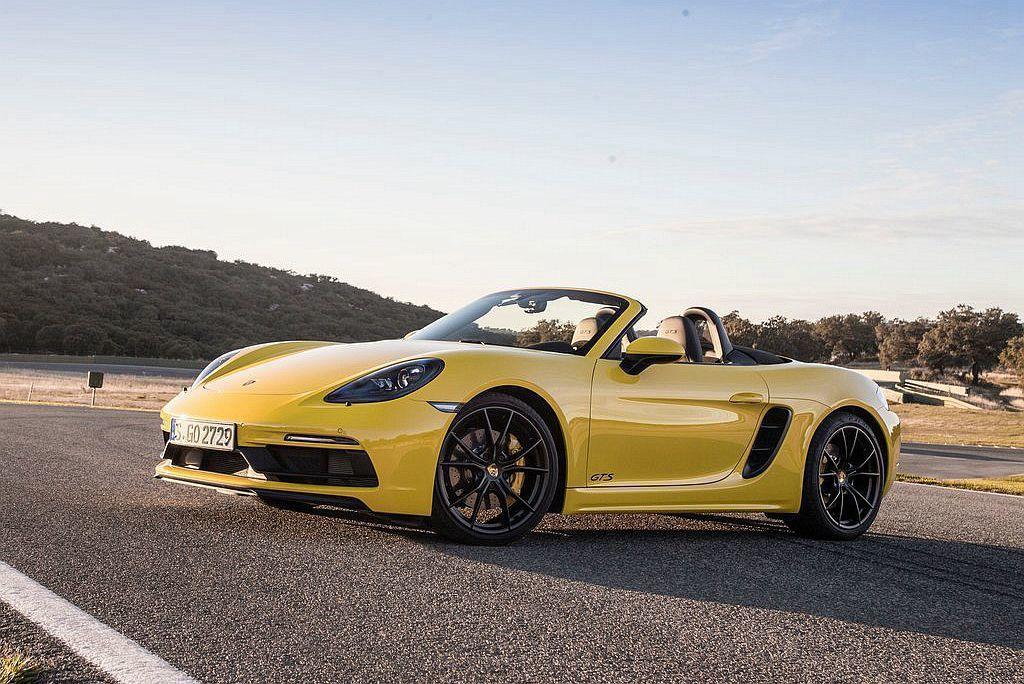 Porsche 718 Boxster 圖/Porsche提供
