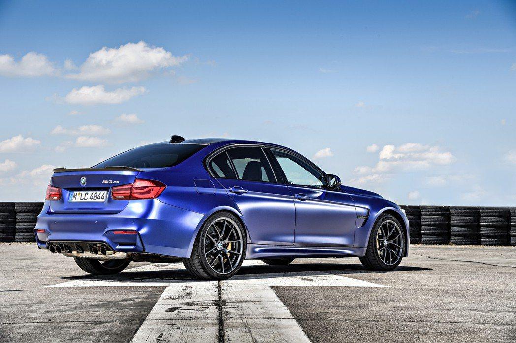 最後一款M3已於近月發表,圖為BMW M3 CS。 摘自BMW