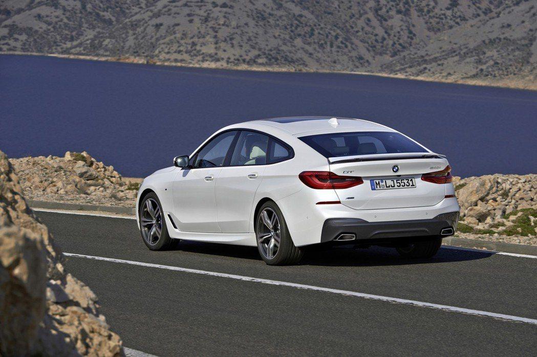 BMW 6 Series Gran Turismo(6GT、G32)。 摘自BMW