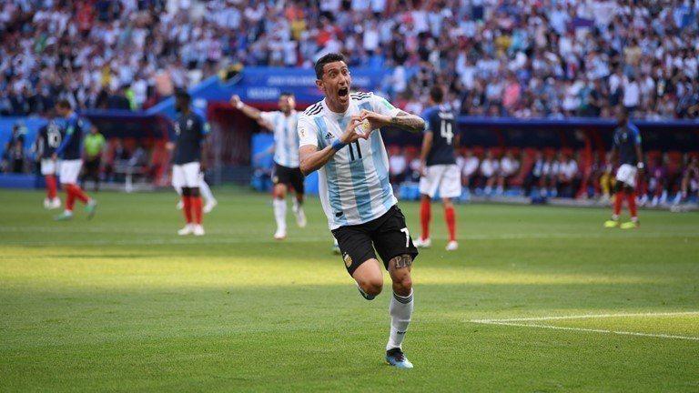 阿根廷迪馬里亞進球。 擷圖自FIFA官網