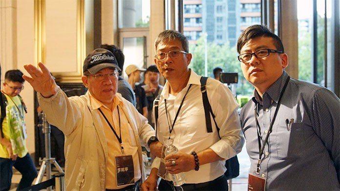 李祐寧(左)與執委劉京陵(右)也是影片的執行導演。 王金文