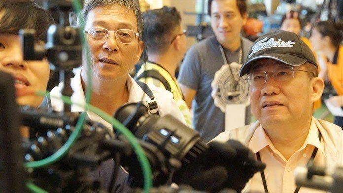 李祐寧(右)與執委劉京陵(左)也是影片的執行導演。 王金文