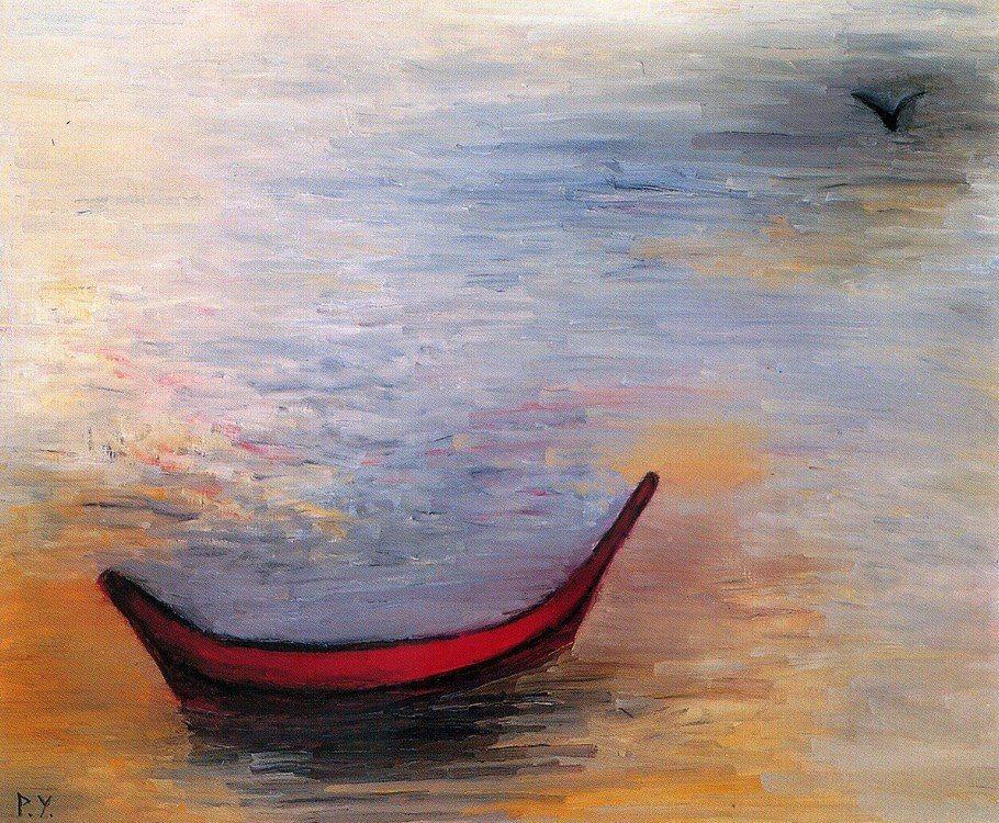 王攀元作品《不繫之舟》。圖/史博館提供