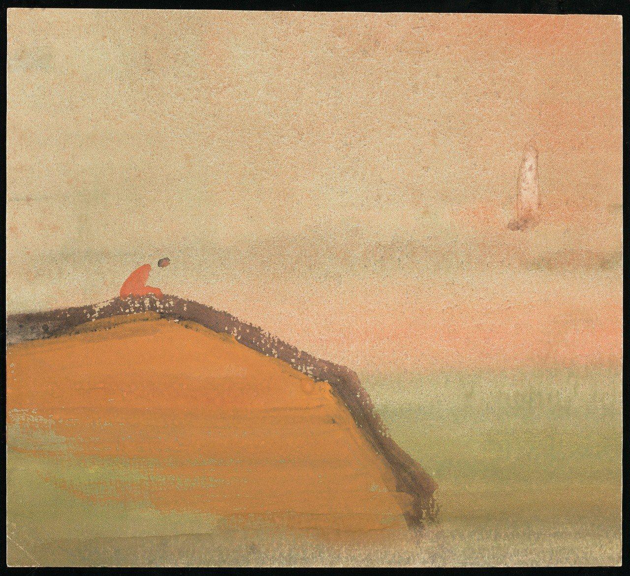 國寶畫家王攀元作品《皆不是》。圖/史博館提供