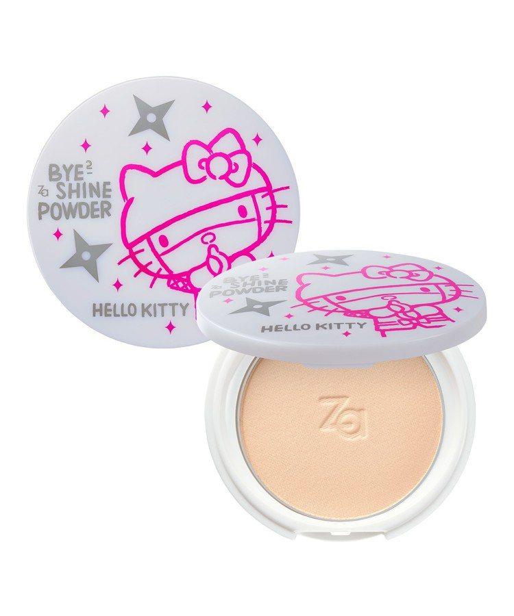 Za油光BYE BYE清透蜜粉餅Hello Kitty限量版,售價280元。圖/...