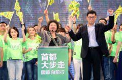 給我優質選舉/台灣價值…空洞選舉語言