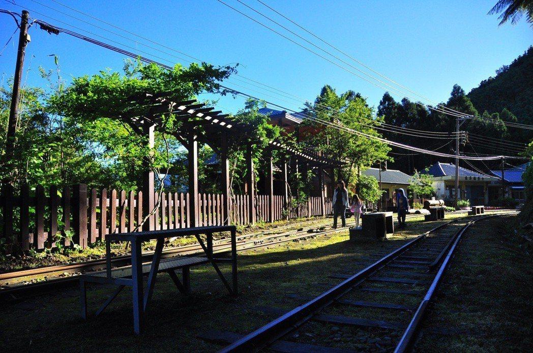 十字路車站。 圖/嘉義林區管理處提供