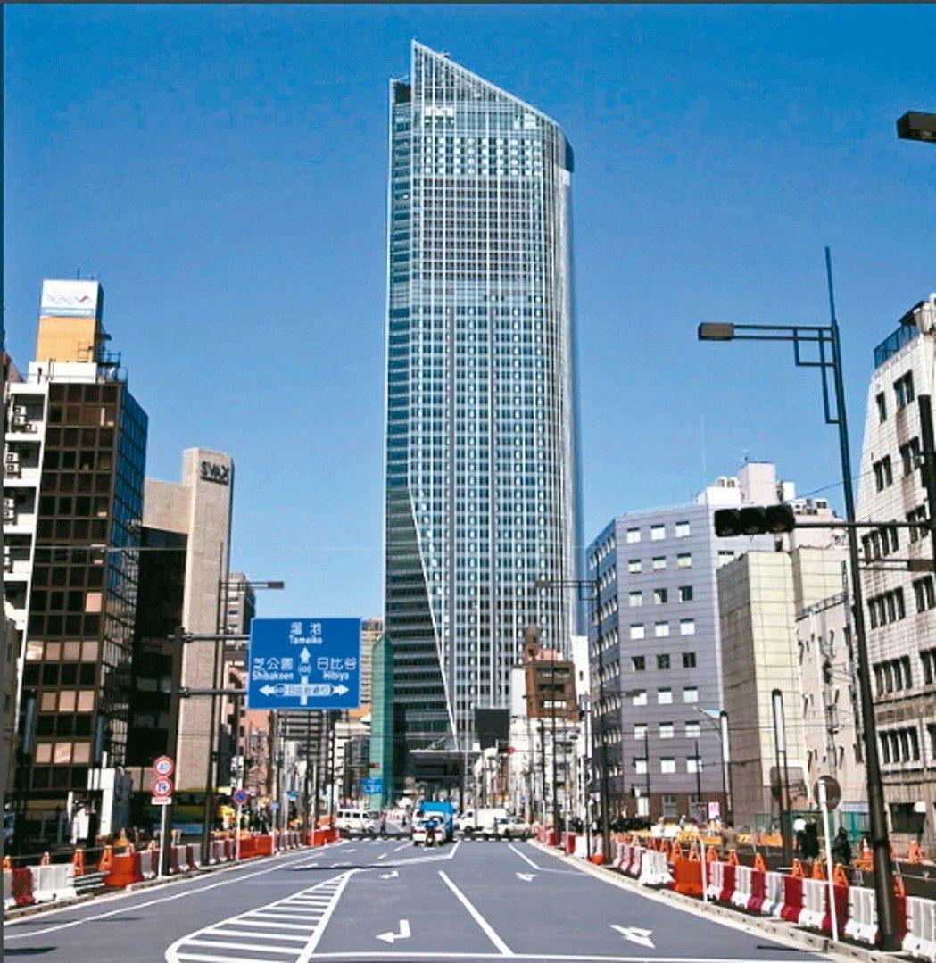 日本東京都港區虎之門區域,隨著東京第二高大樓「虎之門之丘」進駐營運,帶動周邊商圈...