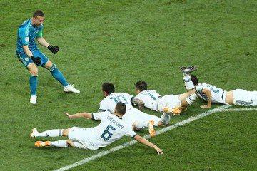 俄羅斯PK大戰守住兩球 4:3爆冷淘汰西班牙晉8強