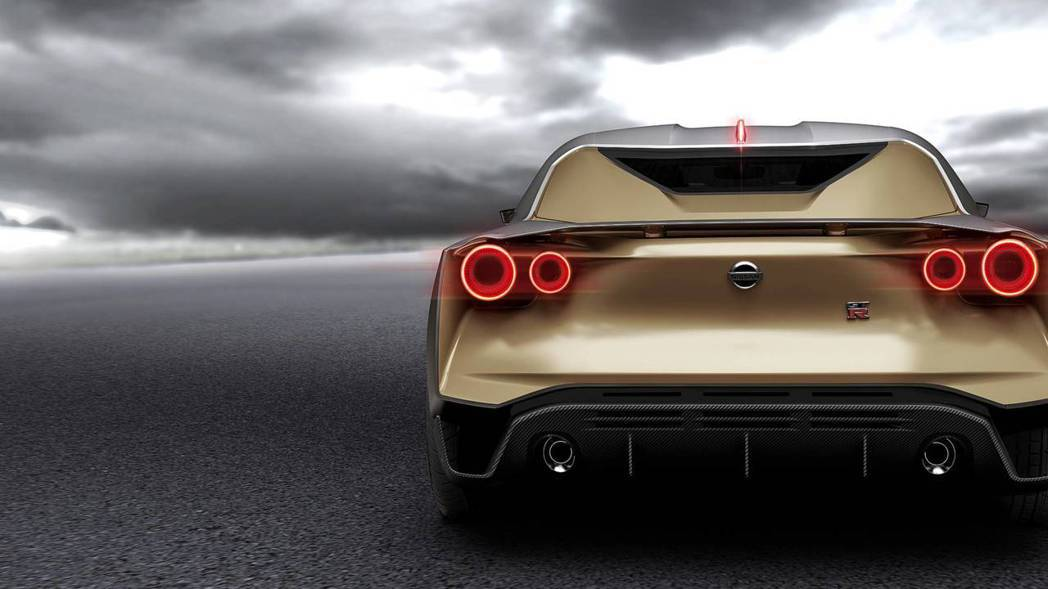 將GT-R經典的4圓燈設計優化,乍看之下很像Ferrari? 摘自NISSAN