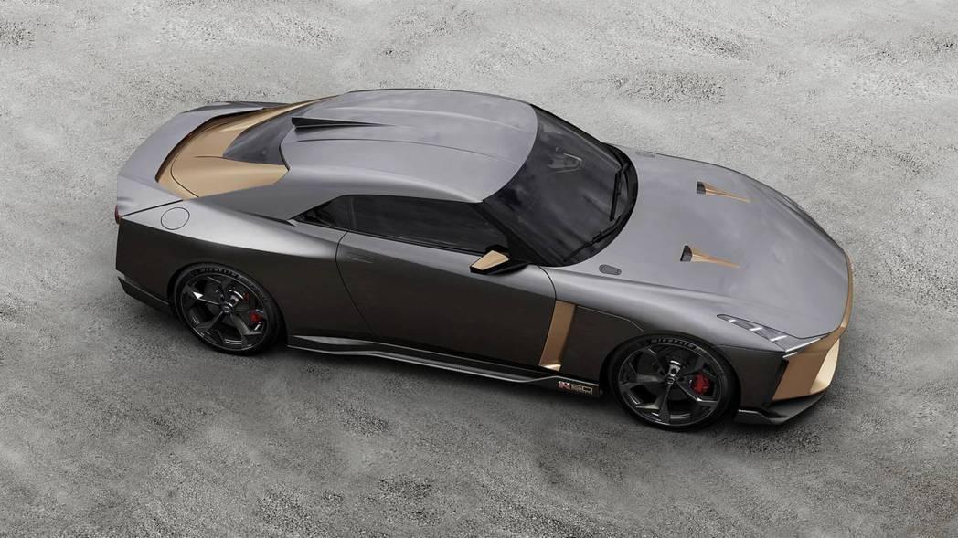 GT-R50加入義大利設計卻又不失原本GT-R的車體精神。 摘自NISSAN