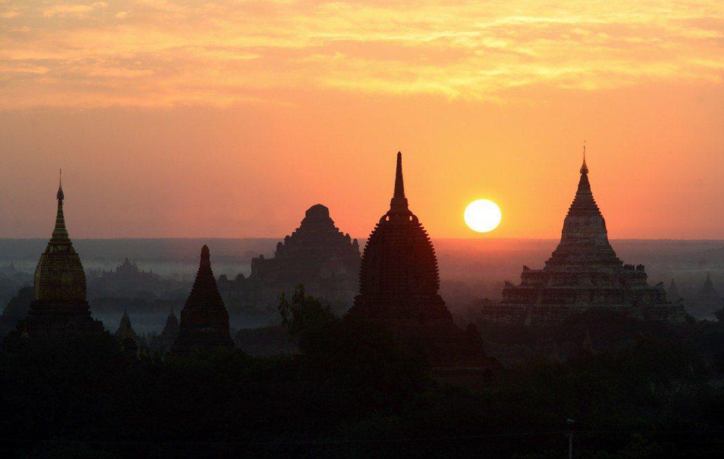緬甸——什麼樣的國度?圖為緬甸歷史悠久的蒲甘。 圖/法新社