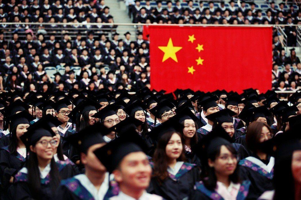 大學校園裡的中國夢?圖為示意圖。 圖/路透社