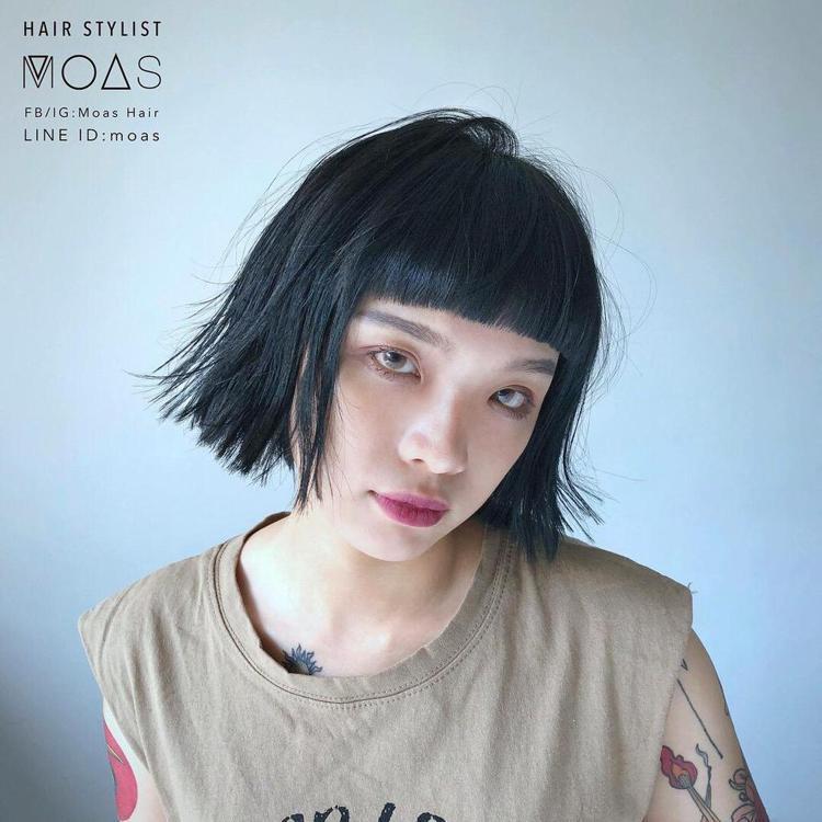 髮型創作/Moas (摩斯) 。圖/StyleMap提供