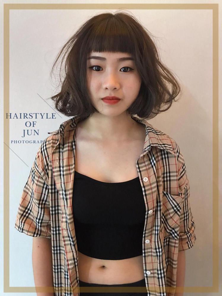 髮型創作/Jun。圖/StyleMap提供