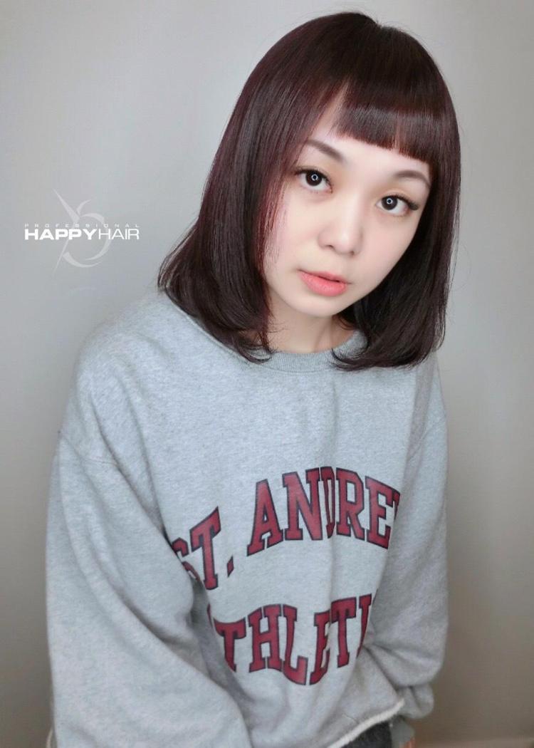 髮型創作/Yaching Apple亞青。圖/StyleMap提供