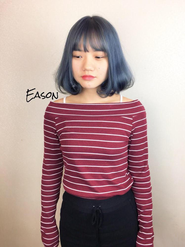 髮型創作/Eason Liu。圖/StyleMap提供