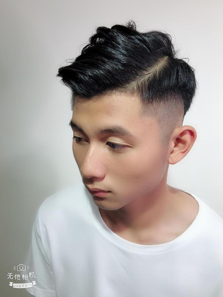 髮型創作/Andy Hsu。圖/StyleMap提供