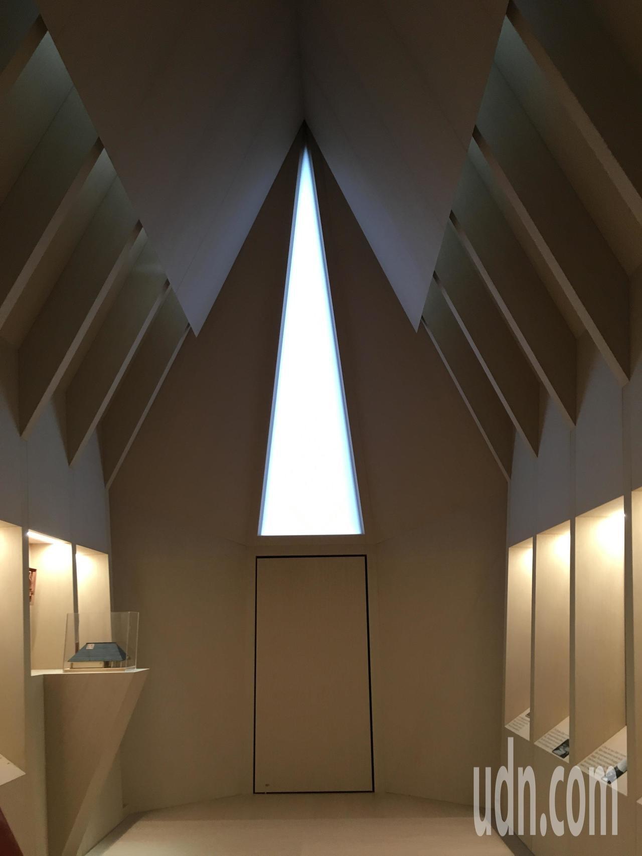 建築師馬可納尼(Francesco Magnani)設計的阿斯普蘭德館內部。記者...