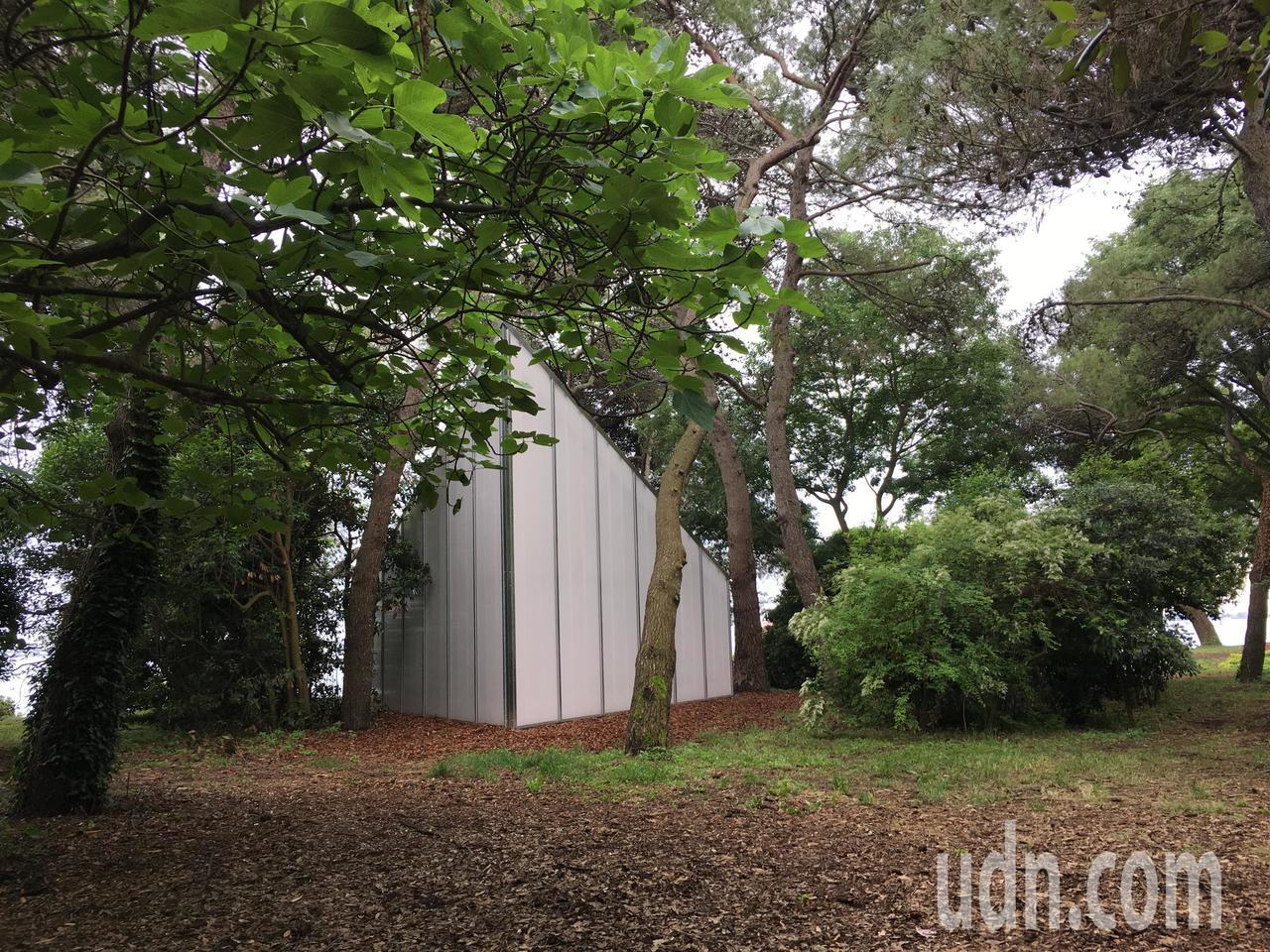 美國建築師博曼(Andrew Berman)設計小教堂。記者何定照/攝影