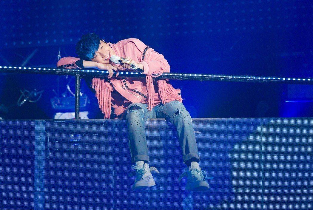 林俊傑在大陸南寧舉辦「聖所」演唱會。圖/JFJ Productions提供