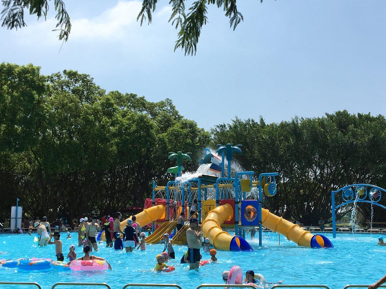 六大主題水池區讓民眾可以盡情享受瘋狂的水槍大戰