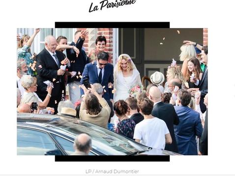 法國45歲女星凡妮莎巴哈迪(Vanessa Parasis)曾與好萊塢男星強尼戴普交往14年,雖沒結婚但兩人育有1女1子,後來因安柏赫德介入結束關係。不過她終於披上婚紗,2年前因拍攝電影「Chien...