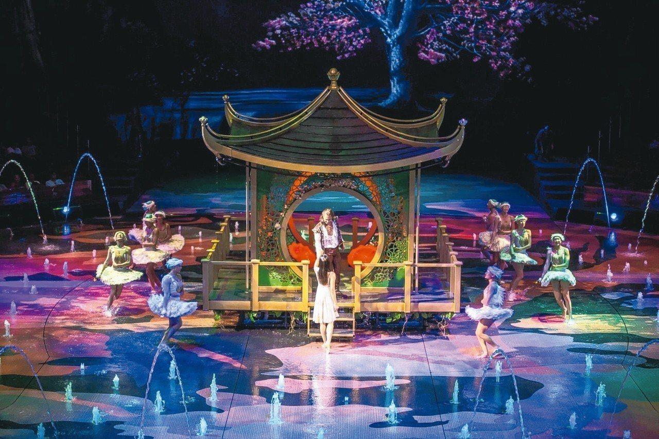 「水舞間」是遊澳門必看的大秀。 圖/KKday提供