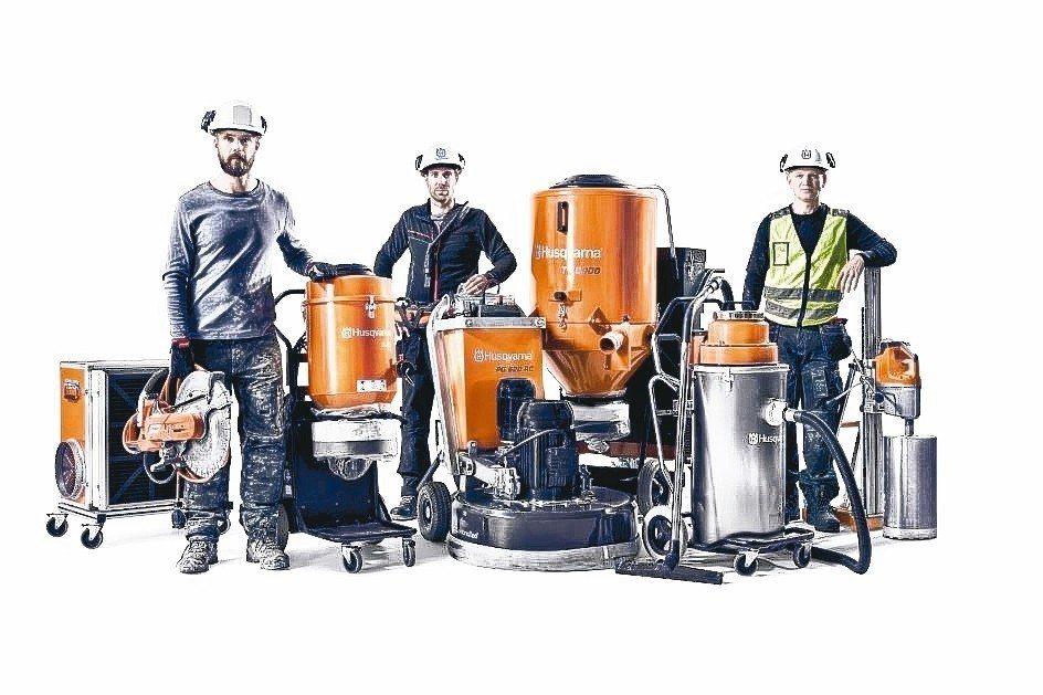 富世華納引進瑞典品牌Husqvarna,提供建築業最大化的工作場所安全性。 富世...