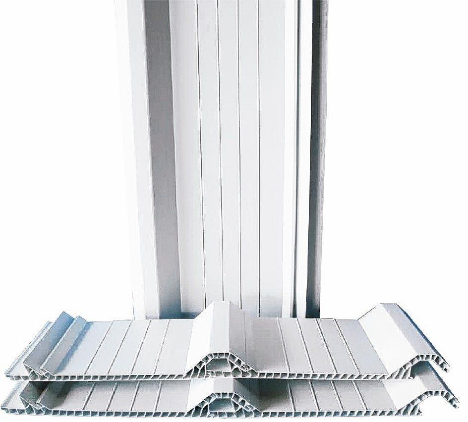強屋雙層中空PVC塑鋼防熱浪板耐用安全效果明顯,品質可靠。 強屋/提供